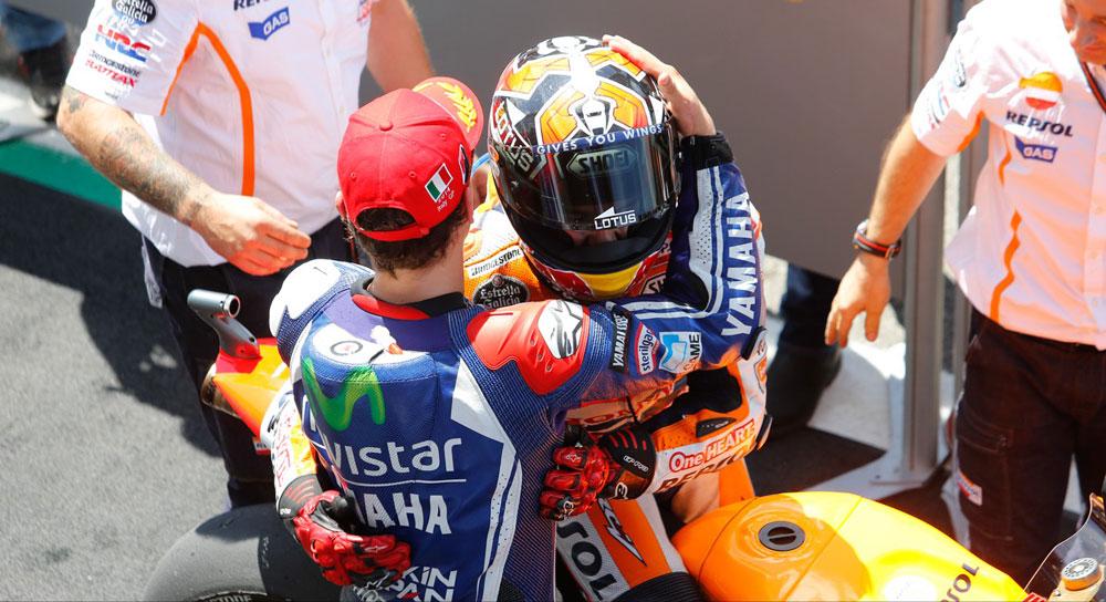 Хорхе Лоренцо и Марк Маркес, MotoGP 2014