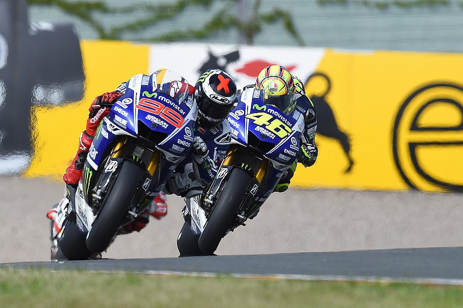 Хорхе Лоренсо и Валентино Росси, Movistar Yamaha MotoGP