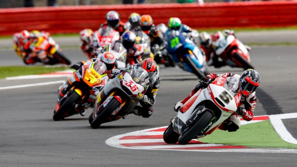 Гонка Moto2 Гран-При Великобритании 2014