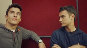 Дани Педроса и Марк Маркес в Зальцбурге