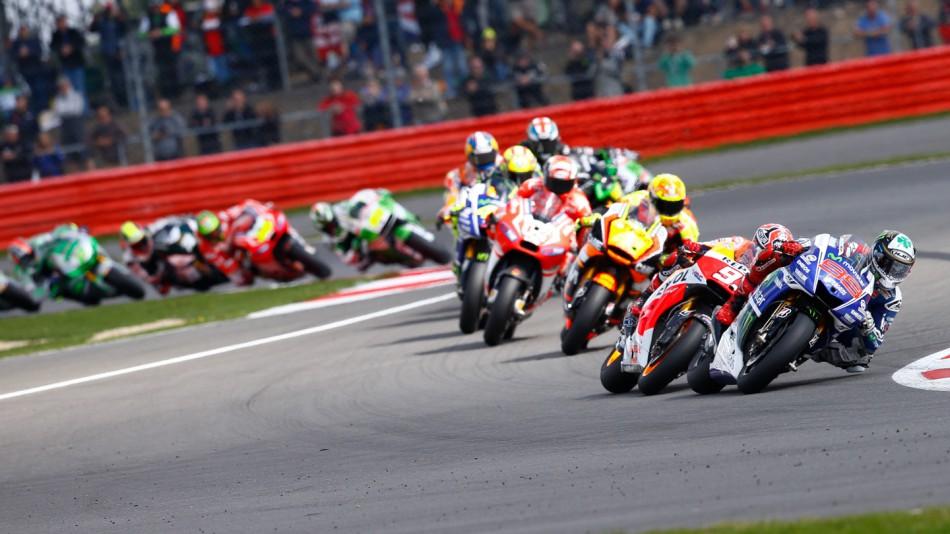 Гонка MotoGP Гран-При Великобритании 2014