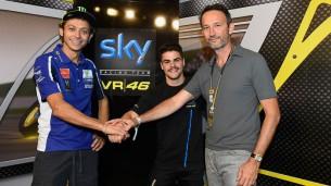 Романо Фенати, Валентино Росси, Sky VR46