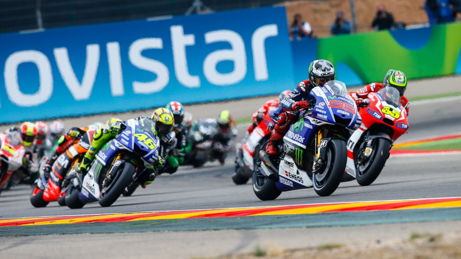 Гонка MotoGP Гран-При Арагона 2014