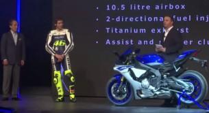 Росси, Лоренсо представил новый Yamaha R1 для Superbike