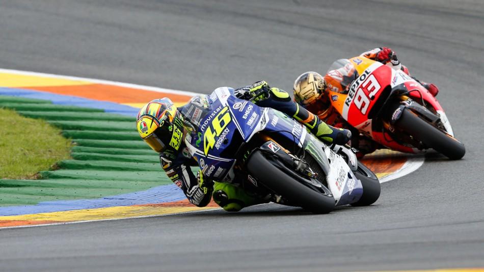 MotoGP Гран-При Валенсии 2014: Лучшие обгоны