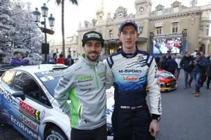 Юджин Лаверти прокатился на раллийном автомобиле Ford Fiesta RS WRC