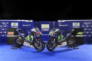 Презентация мотоцикла Yamaha M1 MotoGP 2015 года