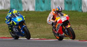 Дани Педроса и Алейш Эспаргаро, MotoGP 2015