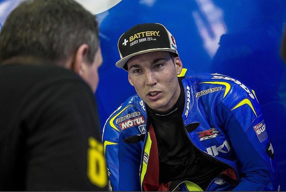 Алейш Эспаргаро, Team Suzuki MotoGP, 2015