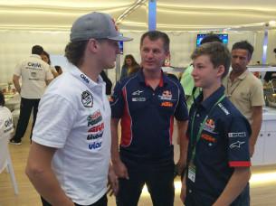 Гонщик MotoGP Джек Миллер поддержал Никиту Калинина