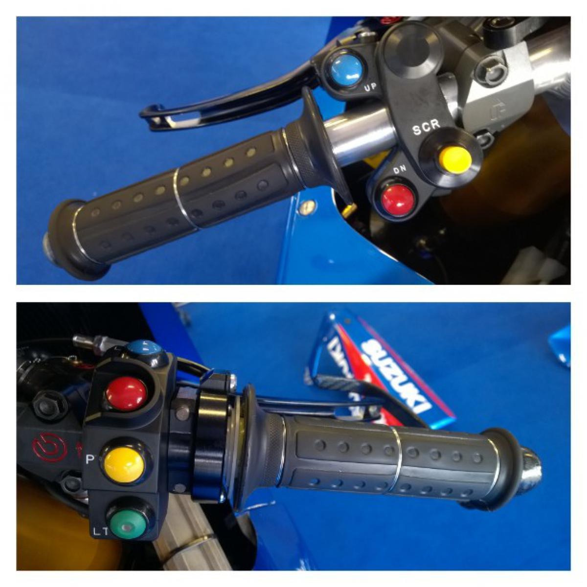 Suzuki объяснила предназначение кнопок на мотоцикле GSX-RR