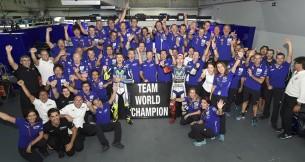 Movistar Yamaha - команда-чемпион 2015 года