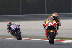 Дани Педроса и Хорхе Лоренцо, MotoGP Гран-При Малайзии 2015