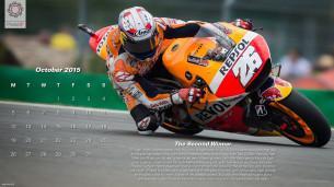 Календарь MotoGP: Дани Педроса