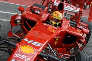 Валентино Росси Ferrari F1