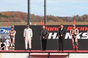 Дани Педроса, Марк Маркес и Фернандо Алонсо Honda Thanks Day