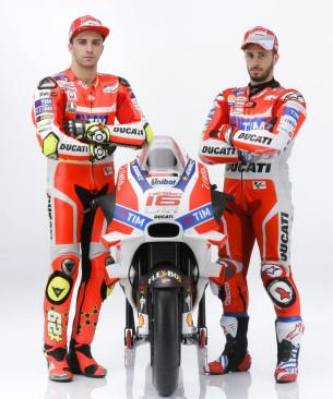 Ианноне, Довициозо и Ducati Desmosedici GP