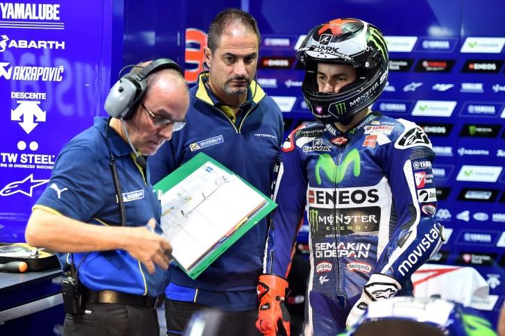 Michelin и Хорхе Лоренцо