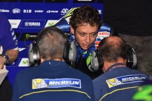 Michelin и Валентино Росси