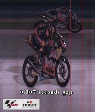 Финиш гонки Moto3 Гран-При Катара 2016