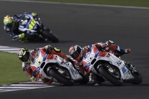 Андреа Довициозо и Андреа Ианноне, Гран-При Катара, MotoGP 2016