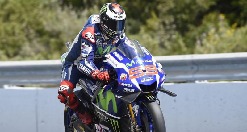 Хорхе Лоренсо, пилот Movistar Yamaha MotoGP