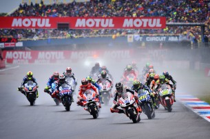 Старт гонки MotoGP Гран-При Нидерландов 2016, Ассен