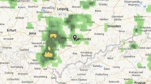 Прогноз погоды: в Заксенринге в любой момент может пойти дождь