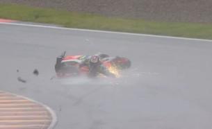 Штефан Брадль, падение, Гран-При Германии 2016