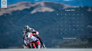 Календарь на август 2016 от Скотта Джонса