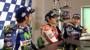 Перепал Росси и Лоренсо на пресс-конференции