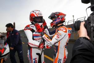 Алонсо и Маркес на Honda Racing Thanks Day 2016