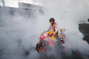 Марк Маркес на Honda Racing Thanks Day 2016