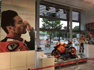 Ники Хэйдена вспоминают в штаб-квартире Honda в Токио (2017)