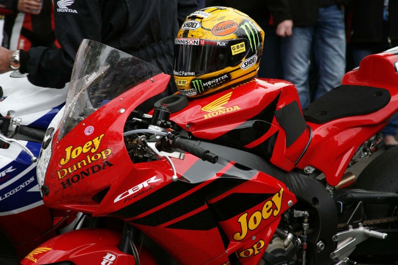 Honda Джона МакГиннес (Isle of Man TT, 2013)