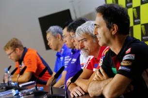 Руководители заводских команд MotoGP (Брно, 2017)