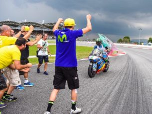 Франко Морбиделли - чемпион Moto2 2017
