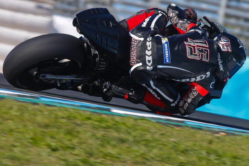 Скотт Реддинг на тестах MotoGP в Хересе (2017)