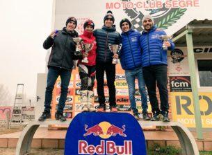 Братья Маркесы на зимнем мотокроссе в Руфии