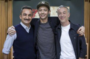 Валентино Росси на Radio DeeJay