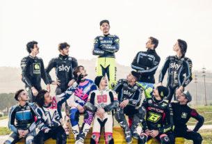 Росси и гонщики Академии VR46 (2018)
