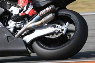 Гаситель колебаний ISSR команды SAG Team Moto2