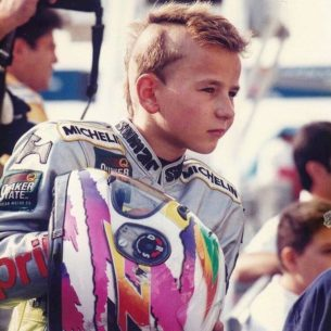 Хорхе Лоренсо в детстве