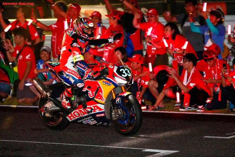 Red Bull Honda получила второе место Suzuka 8-Hours 2018