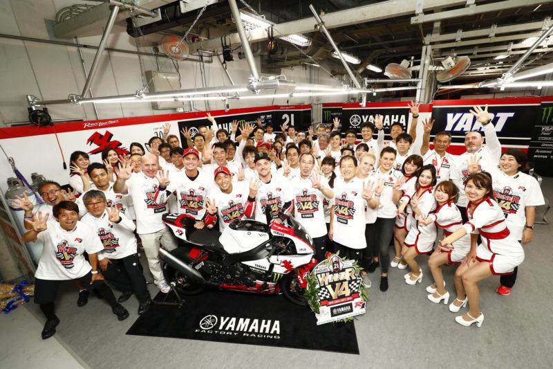Победа Yamaha на Suzuka 8-Hours 2018