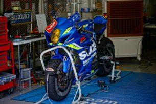 Suzuki на тестах перед Suzuka 8-Hours 2018