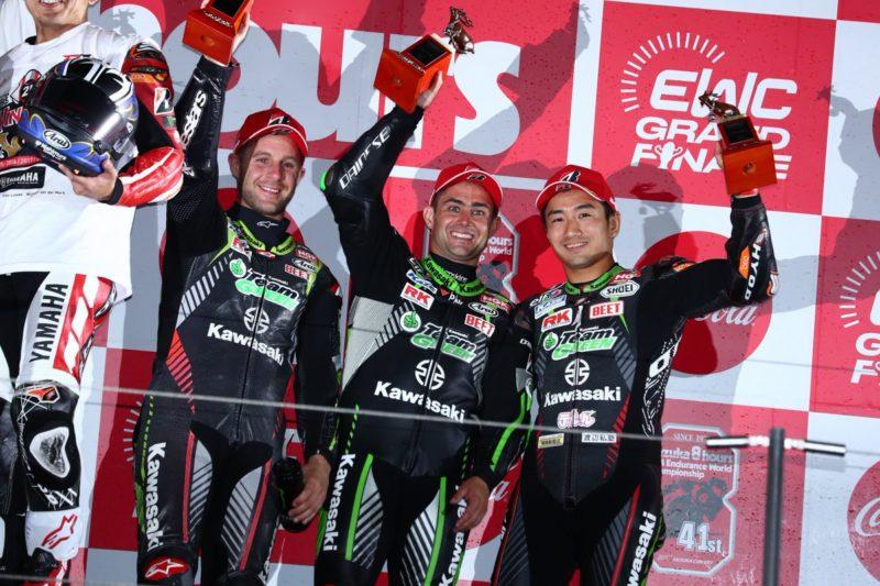 Kawasaki Team Greem на третьем месте Suzuka 8-Hours 2018