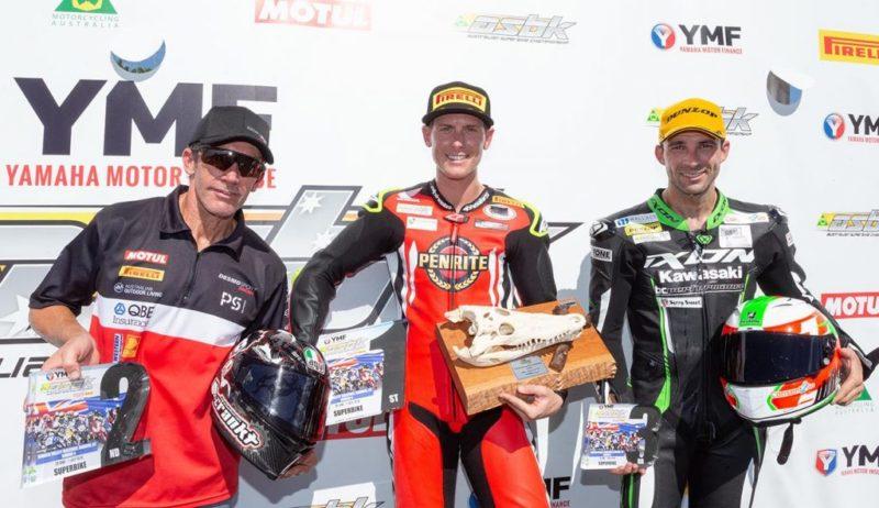 Трой Бэйлис выиграл гонку (ASBK, 2018)