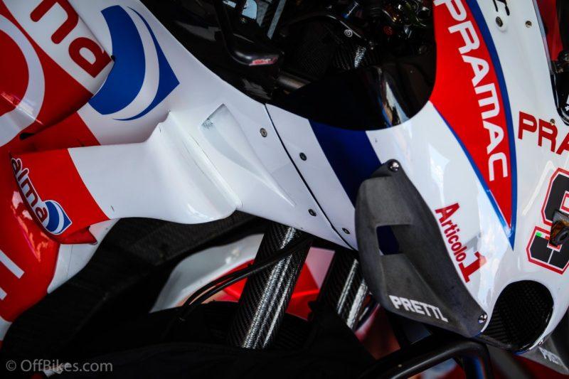 Новый аэрообтекатель Ducati для ГП Чехии 2018