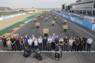 Triumph передал двигателя для Мото2 (Арагон, 2018)